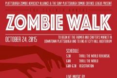 Zombie Walk 2015 Poster