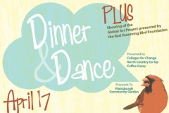 Dinner and Dance Poster