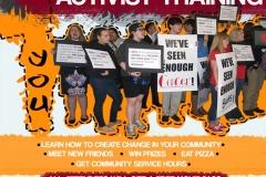 Activist Training Workshop Poster
