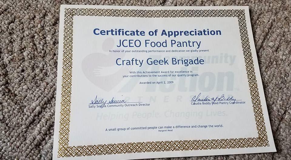 Jceo Certificate Of Appreciation Plattsburgh Ny Hey Im Kim